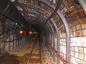 La immensitat de les galeries de la mina